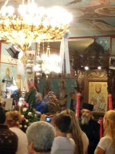 Ιερό προσκύνημα της Παναγίας της Γερόντισσας